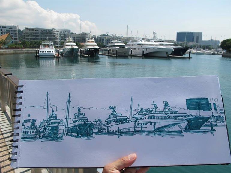 Favian Ee's sketch
