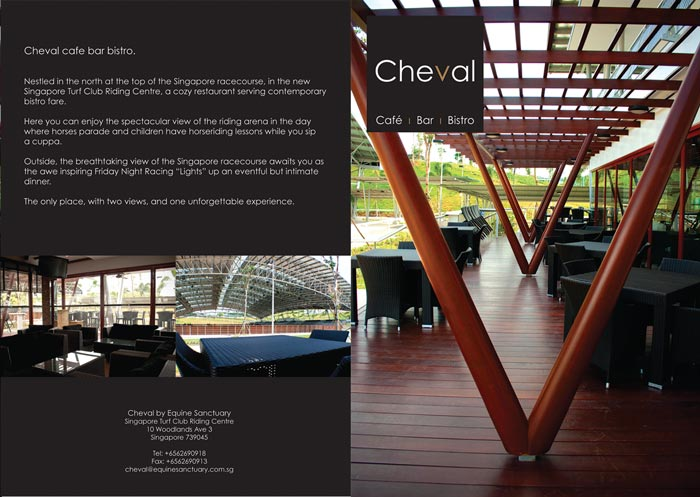 Cheval menu design