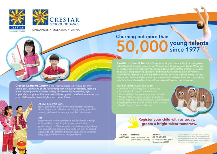 Crestar advert design