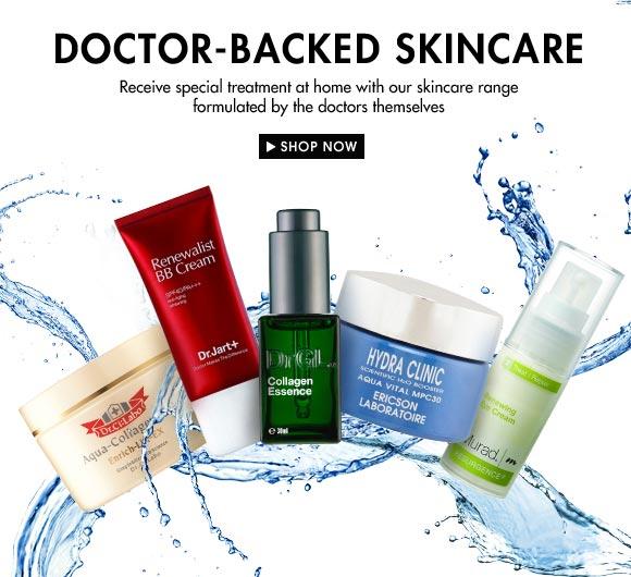 skincare banner design