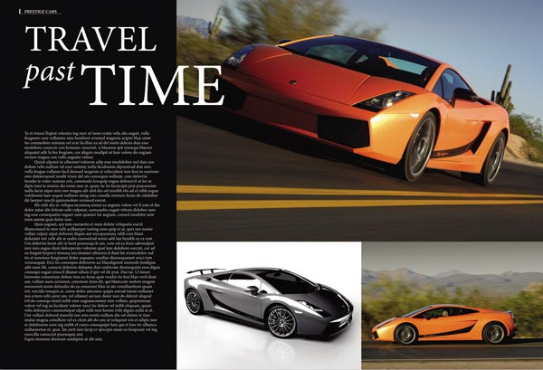 SL Magazine layout design