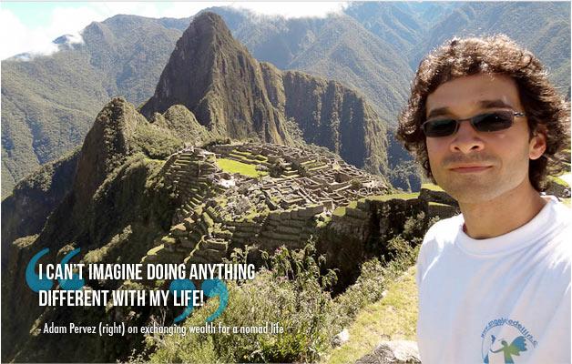 Adam Pervez – From Money to Nomad