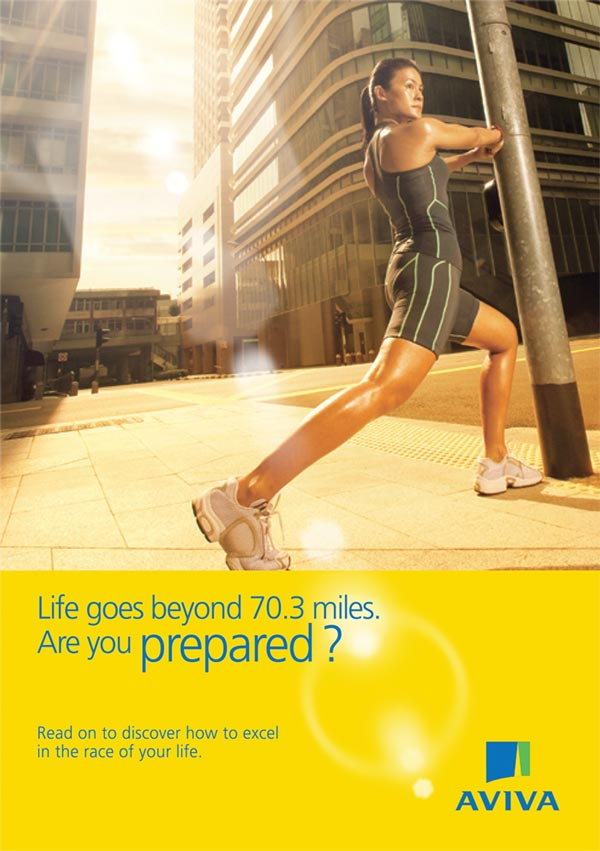 Aviva brochure design cover