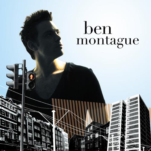 Ben Montague CD sleeve design