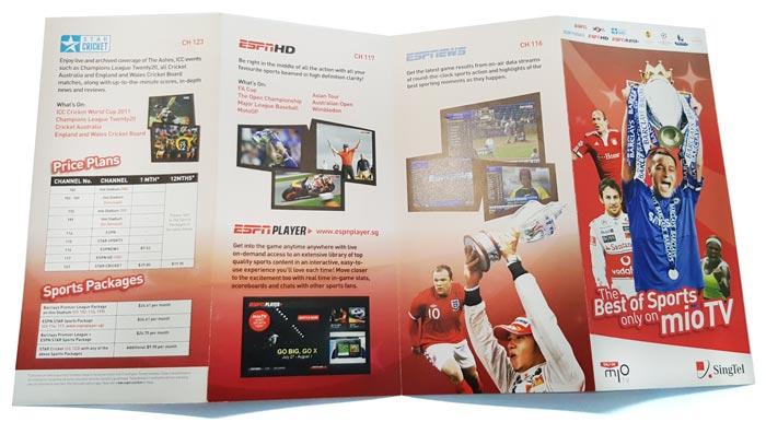 SingTel leaflet