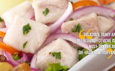 Ceviche: Latin America's Sashimi