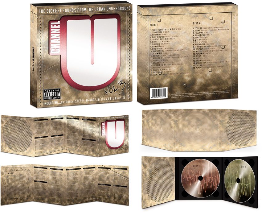 Channel U album design