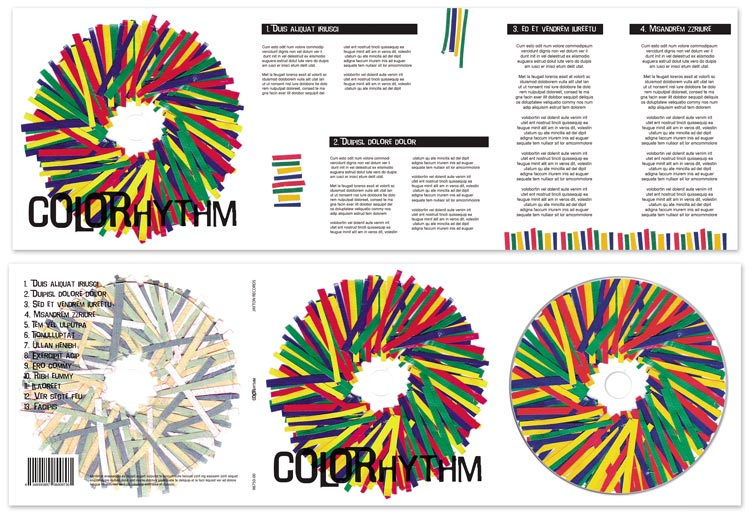 Colorhythm album design