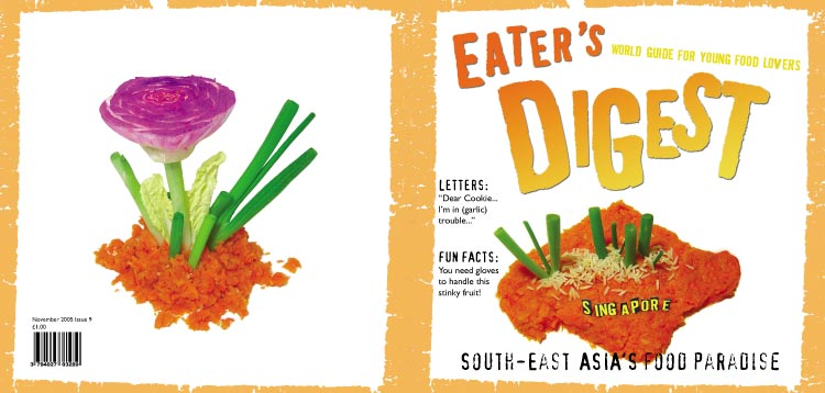 Eater's Digest cover design