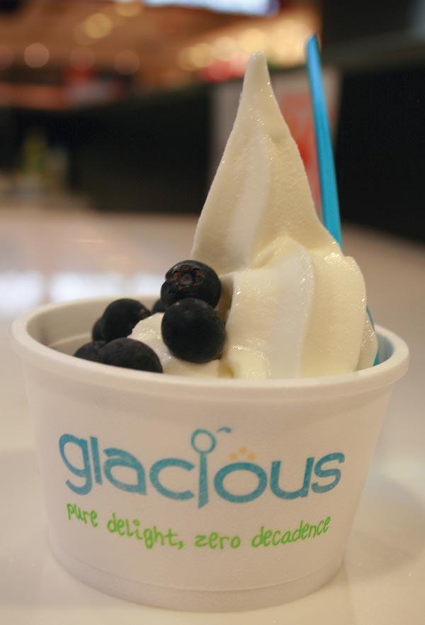 Glacious cup design