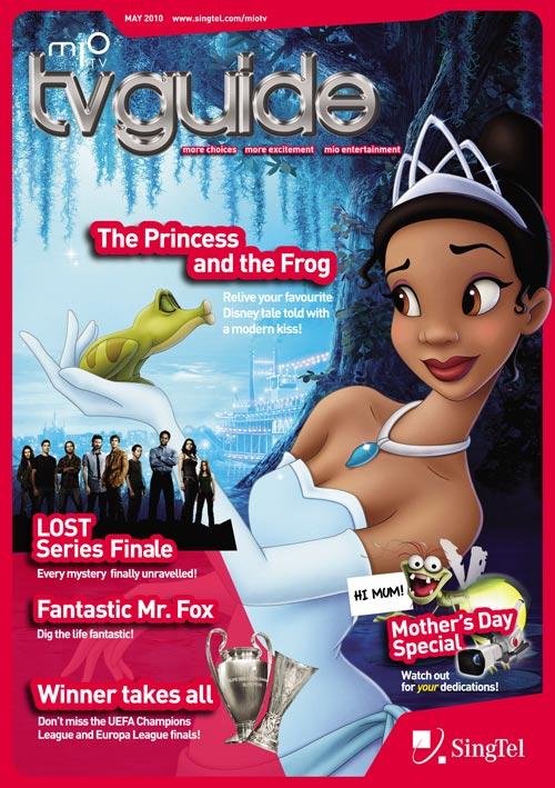 SingTel TvGuide magazine