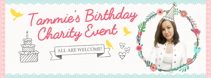 Tammie Chew banner design for Facebook event page