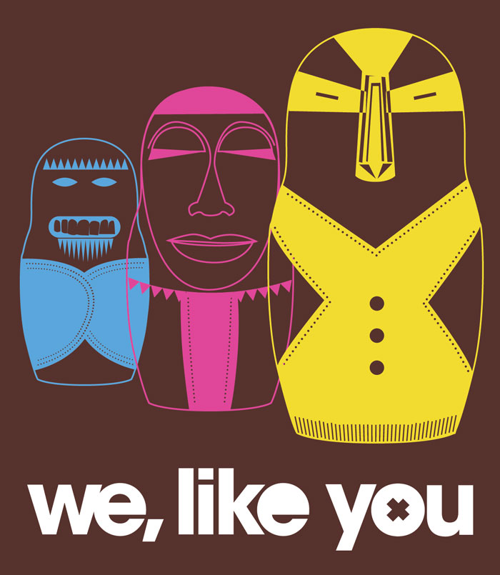 We, Like You illustration