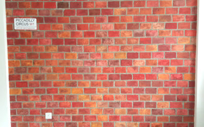 Authentic Faux Brick Wall – 10 DIY Steps with Joint Compound